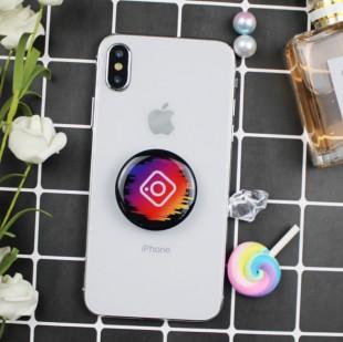پاپ سوکت طرح اینستاگرام Instagram round shape pop socket