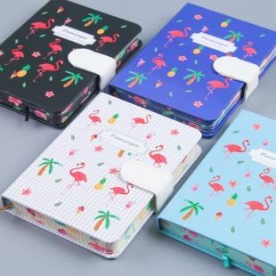 دفتر خاطرات فلامینگو Cute flamingo design diary notebook
