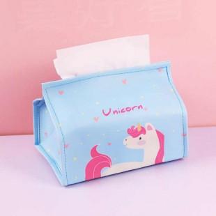 جا دستمال کاغذی اسب تک شاخ Lovely unicorn tissue holder