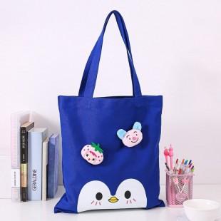 ساک دستی طرح پنگوئن Cute penguin design shoulder bag