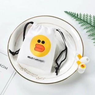 هندزفری فانتزی طرح لاین Line's sticker L-18 earphones