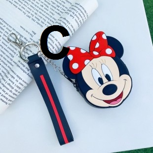 کیف دوشی فانتزی طرح میکی موس و مینی موس Micky mouse and Mini mouse coin purse