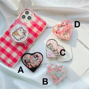 پاپ سوکت قلبی Cute baby love heart design Pop socket