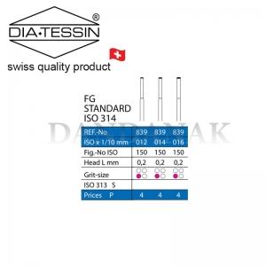 839  فرز الماسه END CUT  استاندارد تراش (standard)
