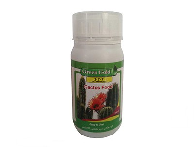 کود مایع گرین گلد 7-7-2 مخصوص کاکتوس