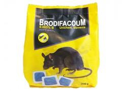 موش کش پاستیلی برودیفاکوم 200 گرمی اسلونی
