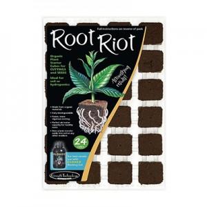 بستر کشت ویول اسفنجی 24 عددی Root Riot