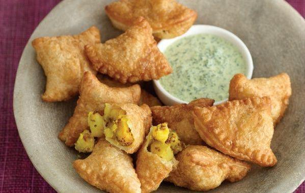 طرز تهیه پخت سمبوسه هندی خوشمزه و تند
