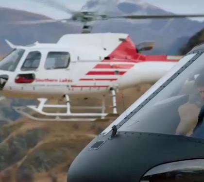 ویدئو :  هلیکوپتربازی! بدلکاری حیرت انگیز فیلم «ماموریت غیرممکن»