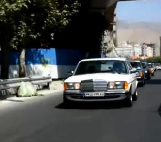 ویدئو : گردهمایی مرسدس بنز های کلاسیک در تهران