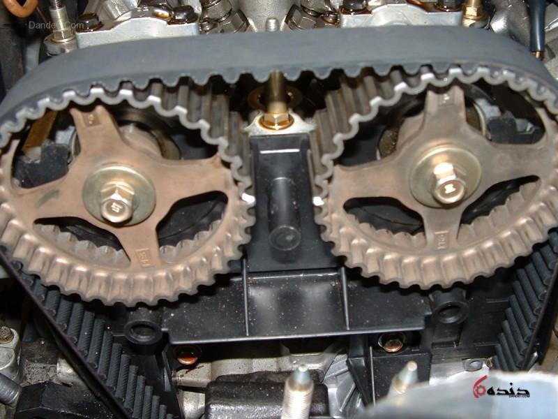 ویدئو :  تعویض تسمه تایم 206 تیپ 2 موتور tu3