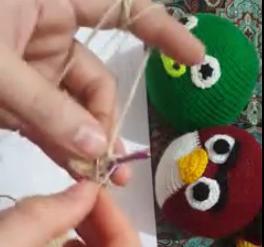ویدئو :   آموزش موارد پایه ای برای بافت با قلاب سر عروسک یا توپ