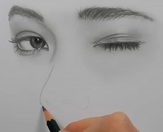 ویدئو :  آموزش بسیار زیبا نقاشی