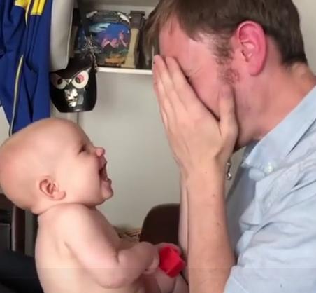 ویدئو :  شادترین کودکان و پدر ها