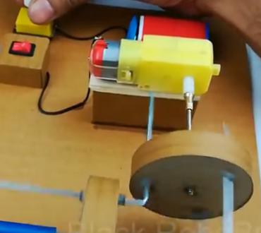 ویدئو :   یادگیری ساختنی علمی ساده: ساخت موتور بدون گیربگس!