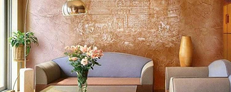توضیح پتینه روی دیوار و پتینه کاری سقف
