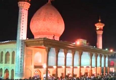 ویدئو : دقایقی آرامش در حرم احمد بن موسی شاهچراغ - شیراز
