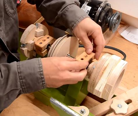 ویدئو : آموزش ساخت بلبرینگ چوبی در کارگاه نجاری