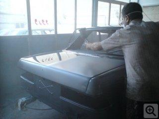 رنگ کردن ماشین
