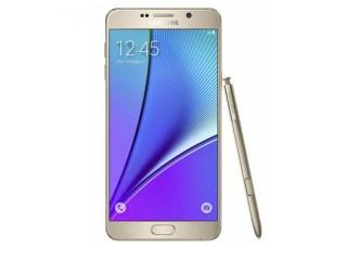 گوشی موبایل سامسونگ گلکسی  نوت 5 طلایی Samsung Galaxy Note 5 Gold