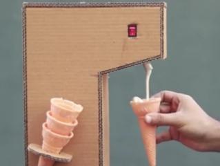 ویدئو :  یادگیری ساختنی علمی ساده: ساخت دستگاه بستنی