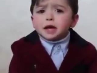 ویدئو :   می خواهیم زندگی کنیم/ حرف های بزرگ یک کودک فلسطینی