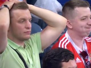 ویدئو :  اشکها و لبخند های بعد از بازی روسیه - کرواسی