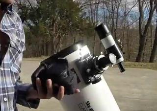 ویدئو :   اتصال دوربین های DSLR به تلسکوپ های دابسونی اسکای واچر