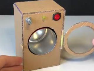 ویدئو :  ساخت ماشین لباسشویی در خانه