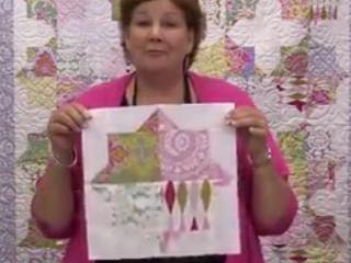 ویدئو :  تکه دوزی با طرح بسیار زیبا از نقوش اسلامی