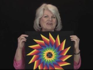 ویدئو :  چهل تکه دوزی (مدل رنگین کمان)