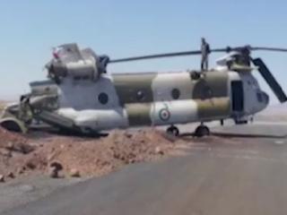 ویدئو :   سقوط یک فروند بالگرد آموزشی ارتش در ملارد