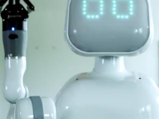 ویدئو :  روبات بیمارستانی موکسی