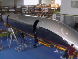 ویدئو : روند ساخت هایپرلوپ تی تی