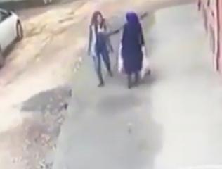 ویدئو :   فیلم عجیبی از بلعیده شدن دو زن در ترکیه به زیر زمین