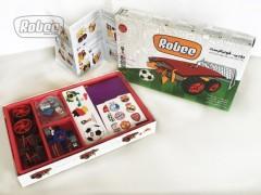 فروش عمده و جزیی اسباب بازی بسته ربات فوتبالیست روبی (R201)