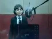 ویدئو : کولاک چندکودک عرب زبان درخواندن مدح مولا علی واقعادیدنی
