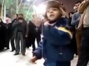 ویدئو :  مداحی کودک ایرانی در بین الحرمین
