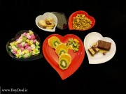 بشقاب کیک خوری یکبار مصرف مجلسی رنگی بسته 150 عددی (5).jpg