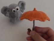 ویدئو : بافت چتر تزیینی با قلاب قسمت دوم