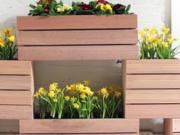 ویدئو :  اموزش ساخت گلدان چوبی دیواری