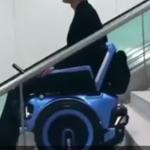 ویدئو :   ویلچری که توانایی بالا رفتن از پله ها را دارا می باشد