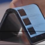 ویدئو :  نخستین موبایل تاشو و خم شونده جهان