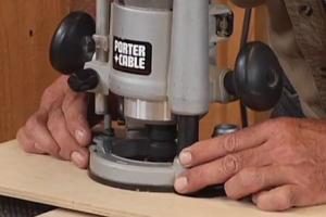 ویدئو : آموزش کار با اور فرز نجاری (سطح مقدماتی)