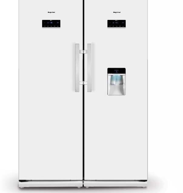یخچال فریزر دوقلو آبریز دار مجیک شف مدل MCSRY-60190