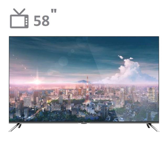 تلویزیون 58 اینچ UHD 4K جیپلاس مدل 58LU722S