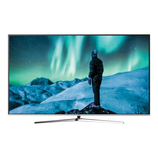 تلویزیون 4K UHD هوشمند جیپلاس مدل 58LU721S سایز 58 اینچ