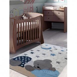 فرش ماشینی ساوین طرح اتاق کودک کد 4035
