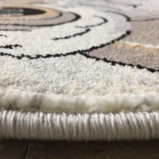 فرش ماشینی ساوین طرح جغد مهربان
