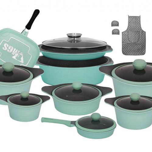سرویس پخت و پز  20 پارچه MGS طرح Korea C
